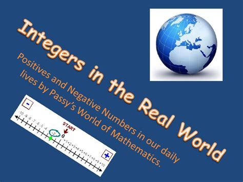 goalfinder integers on a number line animated easy science