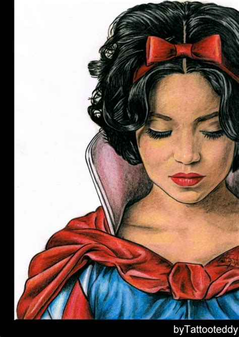 Snow White Necklace Snow White Portrait portrait of snow white by tattooteddy on portraits