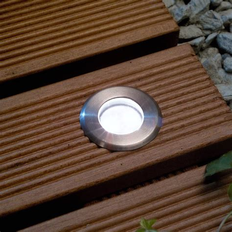 Decking Lights Techmar Astrum 12v White Led Decking Lights