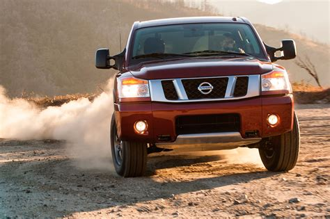Nissan March 2006 Cover Mobil F New 2014 Nissan Titan Side View 342957 Photo 9 Trucktrend