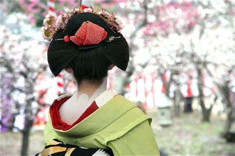 Coiffure Traditionnelles Japonaise Et Chinoise