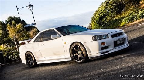 jdm nissan skyline r34 photo nissan skyline gtr gt r r34 vspec v spec jdm white cars