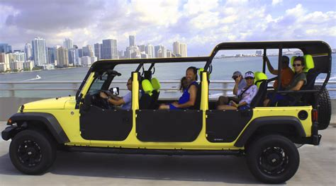 City Jeep Miami Tours Sightseeing Trips And Cruises In Miami
