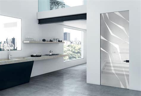 porte interne a filo muro porta a battente su stipite plain filo muro vetro