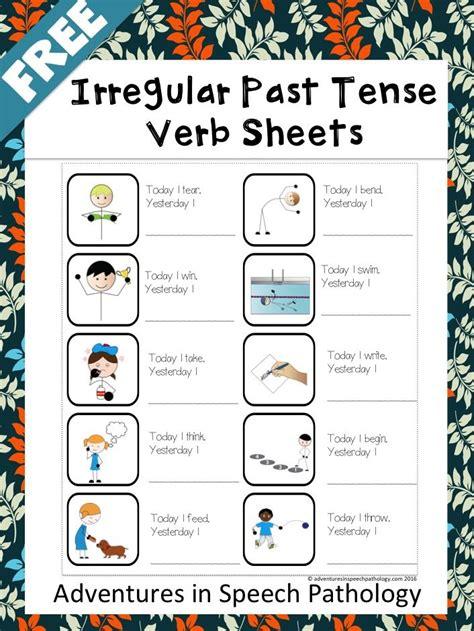irregular past tense verb cards organized by pattern of change animal crackers past tense verbs card game animal