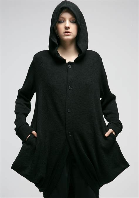 Hooded Cardigan mnml hawt hooded cardigan dolls kill
