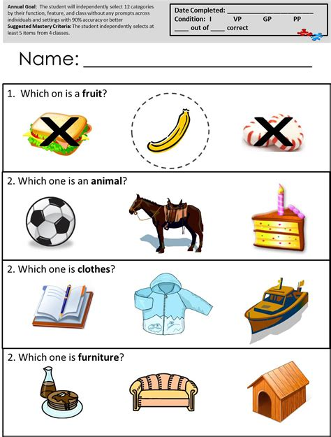 Free Printable Worksheets For Autistic Children by Free Printable Worksheets For Autism Classrooms Available