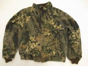 usa made vintage mens xl mossy oak quilted lining