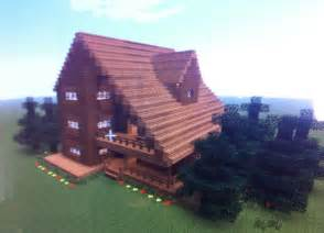 this house is a cabin or big cottage minecraft