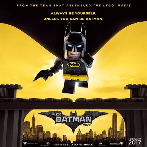 new movie releases today the lego batman movie 2017 new the lego batman movie poster reminds you to be yourself batman news