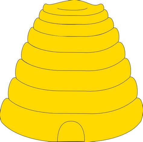 Hive Clipart bee hive clip at clker vector clip royalty free domain