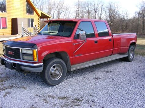 how does cars work 1993 gmc 3500 instrument cluster purchase used 1993 gmc 3500 crew cab one ton in lyons ohio united states for us 2 100 00