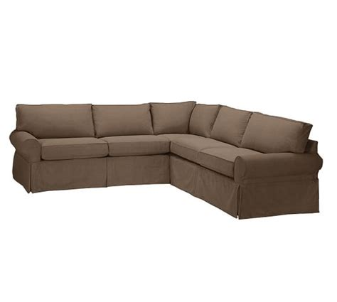 2 L Shaped Sectional by Sale Pb Basic Slipcovered 2 L Shaped Sectional