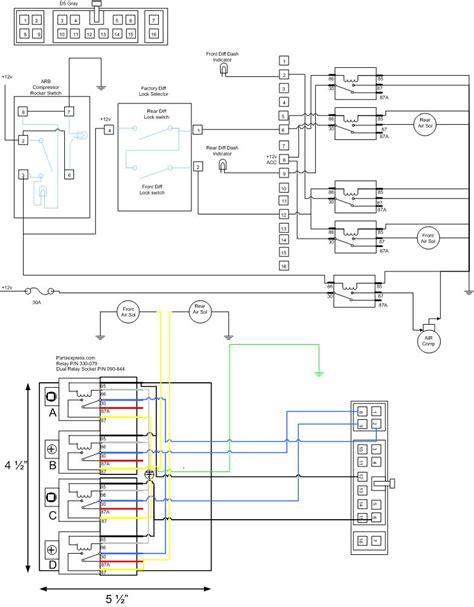 arb air locker factory switch integration ih8mud forum