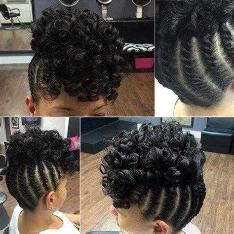 updo braid on my twa best 25 flat twist updo ideas on pinterest natural hair