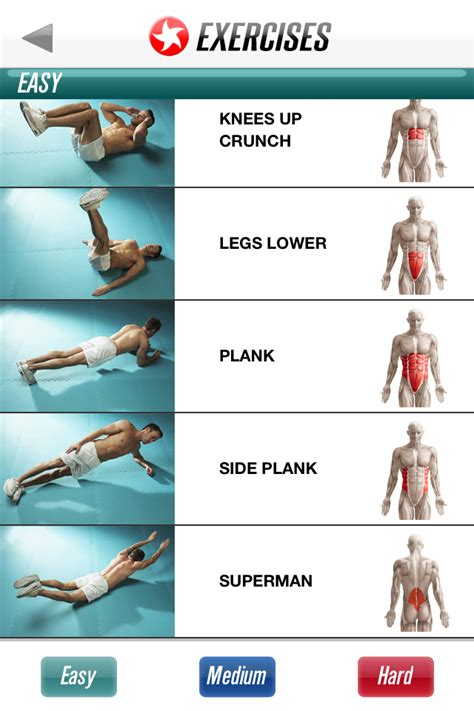 top 5 ab exercises for the best ab workout happy to
