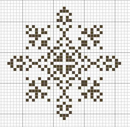 snowflake pattern cross stitch snowflake pattern cross stitch chart only haft