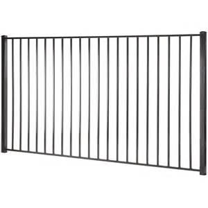 8 Ft Trellis Panels Shop Monroe Black Steel Decorative Metal Fence Panel