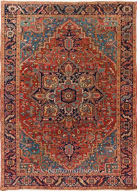 Authentic Rugs by Antique Heriz Rugs Ehsani Rugs