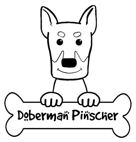 doberman coloring pages printable coloring pages