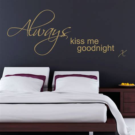 always me goodnight wall stickers always me goodnight wall sticker decals