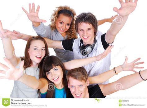 imagenes emos alegres jovens alegres fotos de stock royalty free imagem 7146078