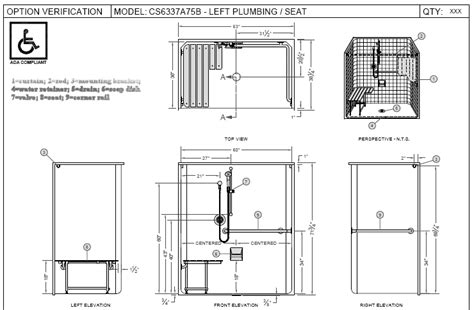 ada bathroom stall dimensions ada shower google search spa pinterest master