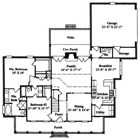 mayhew southern home plan 024d 0023 house plans and more