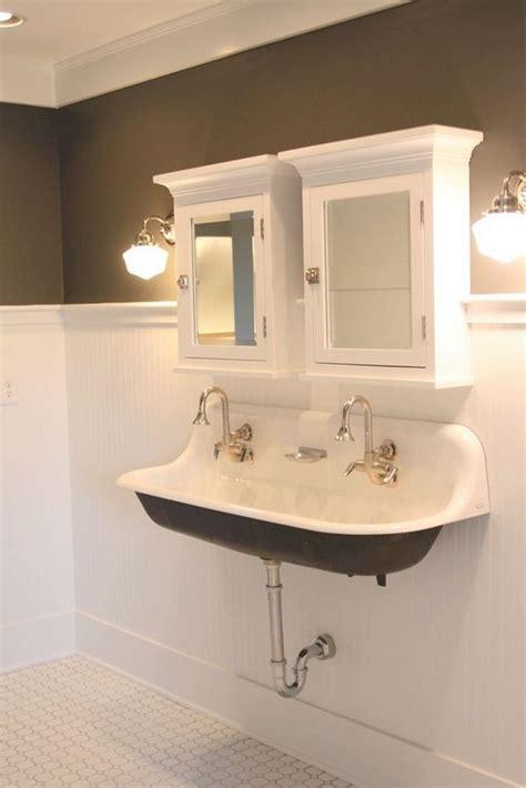 kohler trough sink bathroom 1000 ideas about trough sink on farmhouse