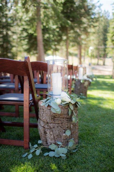 25  best ideas about Tree Stump Centerpiece on Pinterest