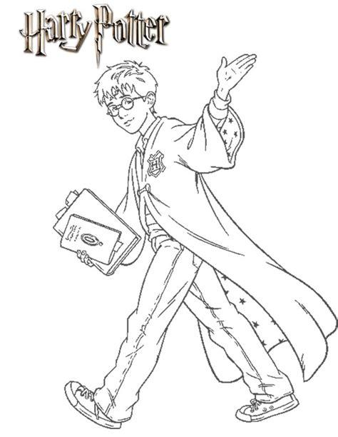 Coloriage Harry Potter 224 Imprimer Gratuitement