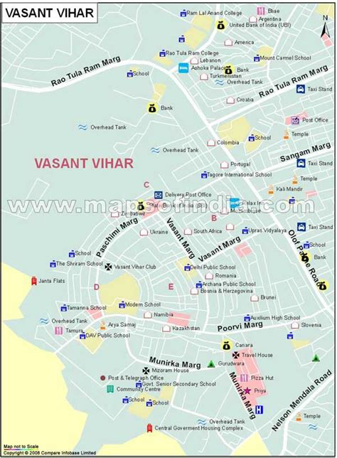 Vasant Vihar Map
