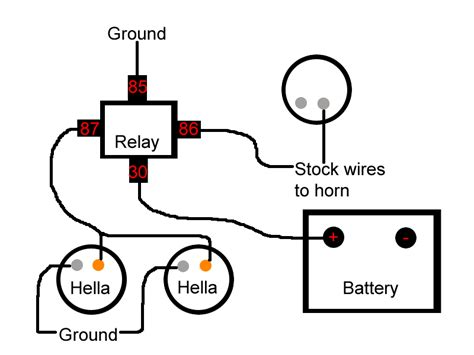 wolo horn relay wiring diagram wolo free engine image