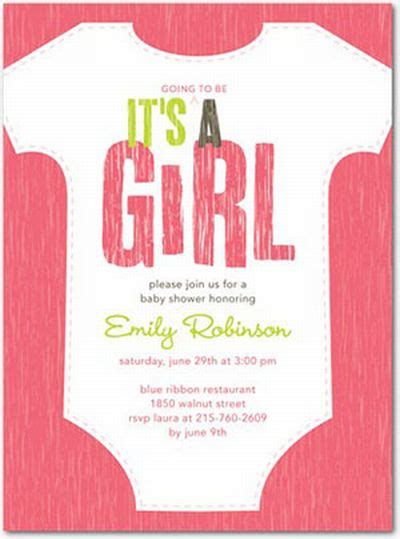 invites for baby shower girl baby shower invitations for a girl