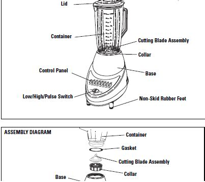 vitamix parts diagram where can i get replacement parts for a windmere b55 fixya
