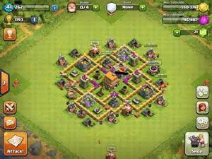 Clash of clans town hall 6 war base defense guide tips and strategy