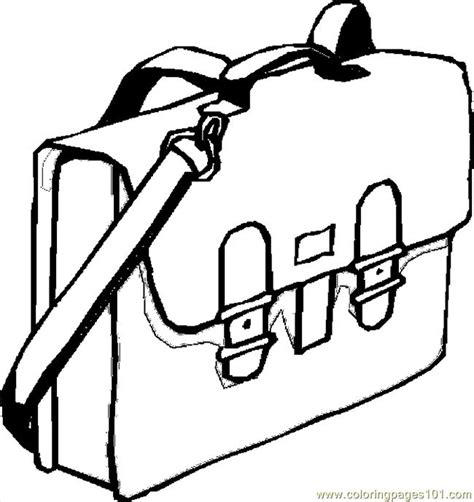 coloring page school bag coloring pages book bag 14 education gt school free
