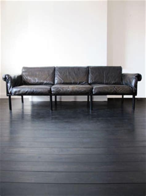 leather oak ateljee sofa  yrjo kukkapuro  haimi finland