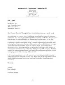 Cover Letters For Marketing by 31 Professional Cover Letters For Marketing Vntask