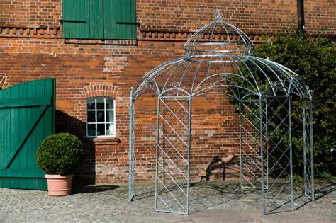 pavillon verzinkt gartenpavillon metall romantik feuerverzinkt 216 340cm