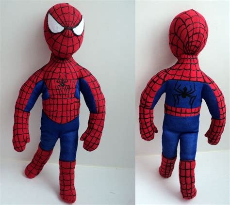spiderman plush pattern how to sew spiderman soft toy or doll