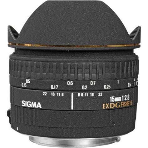 Sigma Fisheye sigma 15mm f 2 8 ex dg diagonal fisheye lens for canon ef