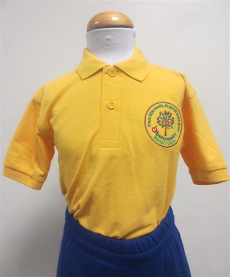 Polo Shirt Rooster Fabulous 12 our new school is available to order abercromby nursery school