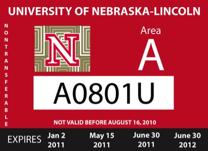 Of Nebraska Lincoln Mba Cost by Faculty Staff Parking Permit Costs To Increase Announce