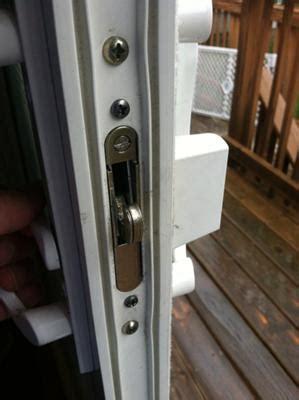 patio door lock repair sliding glass door locks can be replaced heres how
