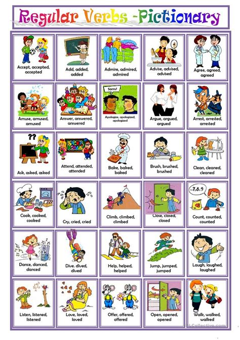 regular verbs worksheet free esl printable worksheets made by teachers