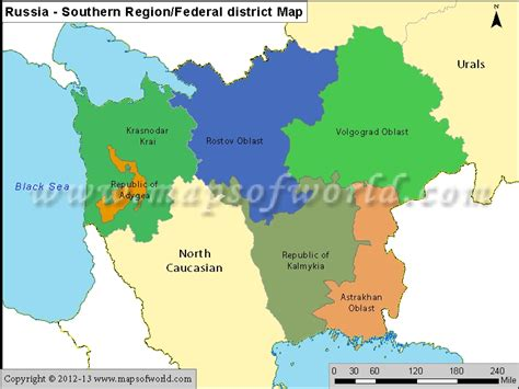 russia map by region map of southeast russia images map pictures