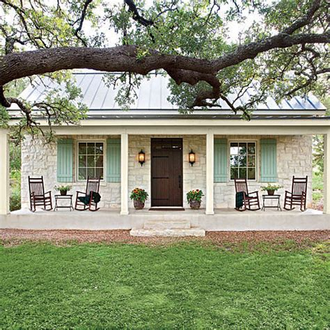 oaktree cottage norfolk cottage floor plans charming texas farmhouse curb appeal stone facade oak