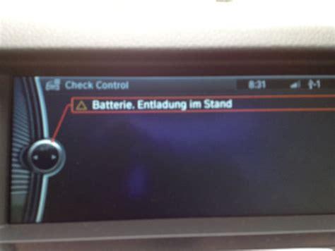 Bmw 1er Batterie Defekt by Batterie Entladung Im Stand Verbraucher Abgeschaltet