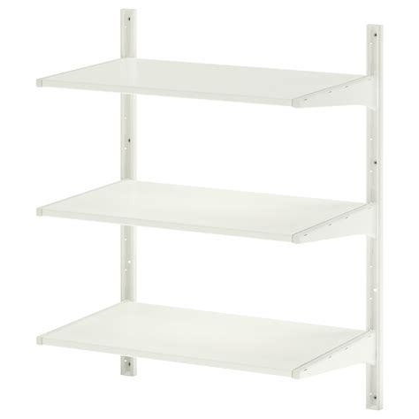 Algot Wall Upright Shelves White 65x40x84 Cm Ikea Ikea Algot Shelves